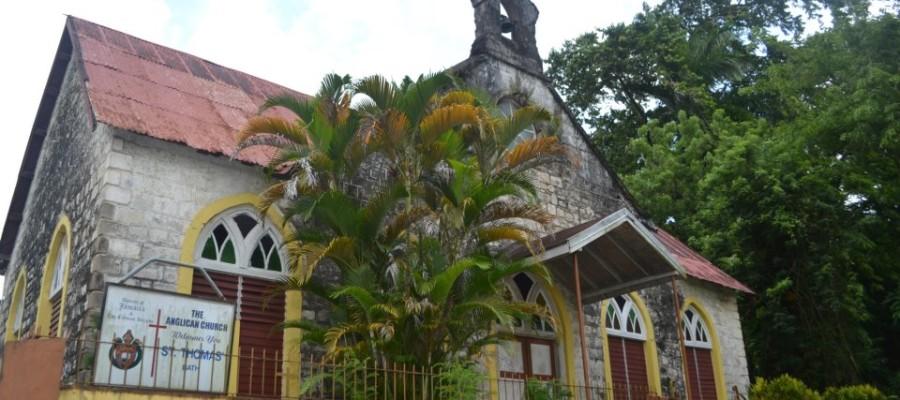Bath Anglican Church Bath Fountain St Thomas Jamaica