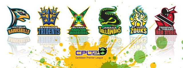 cricket in Jamaica CPL team logos