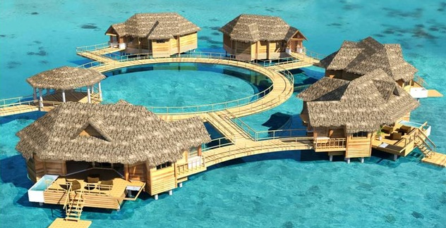 Jamaica Tourism News: Sandals Royal Caribbean over water Bungalos Coming Soon